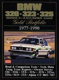 BMW 320-323-325 Series 3 6-Cylinder Cars 1977-90-GP by R.M. Clarke