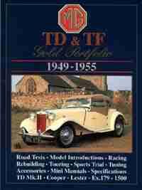 MG TD-TF 1949-1955: Gold Portfolio by R.M. Clarke