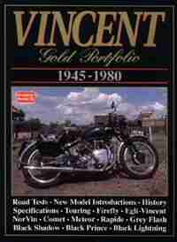 Vincent 1945-1980 Gold Portfolio by R.M. Clarke