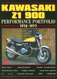 Kawasaki Z1 900 1972-77 Performance Portfolio by R.M. Clarke
