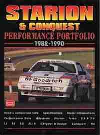 Starion & Conquest Performance Portfolio 1982-90 by R.M. Clarke