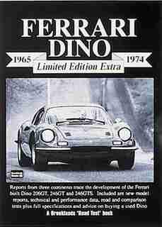Ferrari Dino Limited Edition Extra 1965-1974 by R.M. Clarke