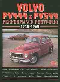 Volvo PV444 & PV544 1945-65 by R.M. Clarke