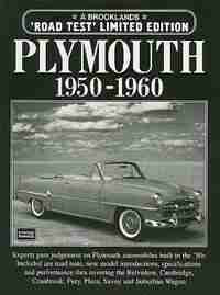 Plymouth 1950-1960 by R.M. Clarke