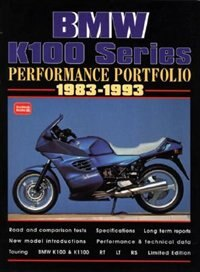 BMW K100 Series 1983-1993 -Performance Portfolio by R.M. Clarke