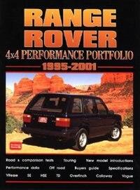 Range Rover 4X4 1995-2001 -Performance Portfolio by R.M. Clarke
