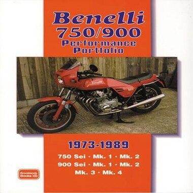 Benelli 750/900 Performance Portfolio 1973-1989 de R.M. Clarke