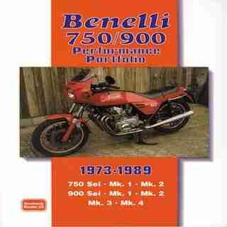 Benelli 750/900 Performance Portfolio 1973-1989 by R.M. Clarke