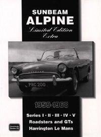 Sunbeam Alpine Limited Edition Extra 1959-1968 by R.M. Clarke