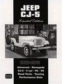 Jeep Cj-5 Limited Edition 1960-1975 by R.M. Clarke