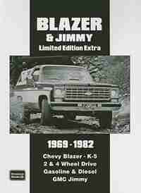 Chevy Blazer & Jimmy Limited Edition Extra 1969-1982 by R.M. Clarke