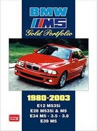 BMW M5 Gold Portfolio 1980-2003 by R.M. Clarke