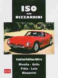 Iso and Bizzarrini Limited Edition Ultra by R.M. Clarke