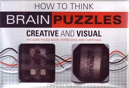 Book HOW TO THINK: BRAIN GAME PUZZLES by Phillips Charles