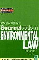 Sourcebook On Environmental Law