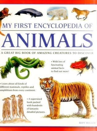 My First Encylopedia Of Animals: A First Encyclopedia With Supersize Pictures by Matt Bugler