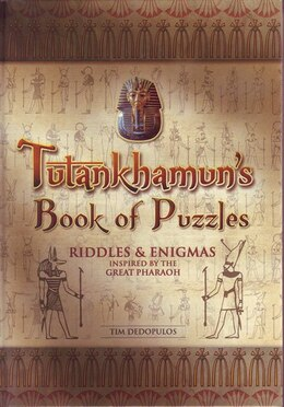 Book EGYPTIAN PUZZLES by Carlton Books