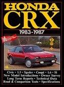 Honda CRX 1983-87 by R.M. Clarke