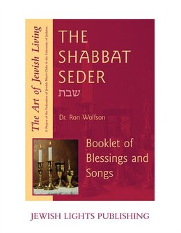 Book Shabbat Seder Booklet: AJL by Ron Federation of Jewish Men's Clubs