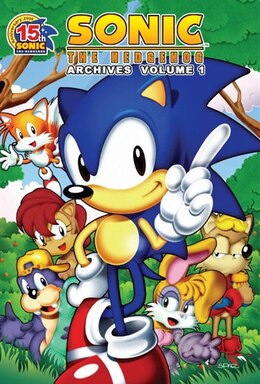 Book Sonic The Hedgehog Archives 1 by Patrick spaz Sonic Scribes