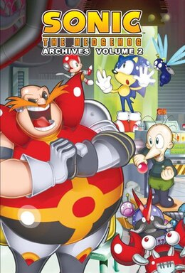 Book Sonic The Hedgehog Archives 2 by Patrick spaz Sonic Scribes