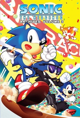 Book Sonic The Hedgehog Archives 3 by Patrick spaz Sonic Scribes