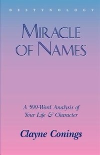 Book Miracle Of Names by Clayne Conings