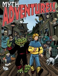Myth Adventures Collection: Another Fine Myth