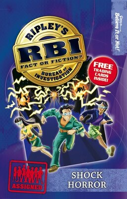 Book Ripley's Bureau of Investigation 7: Shock Horror by Believe It Or Not! Ripley's Believe It Or Not!