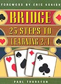 Bridge: 25 Steps to learning 2/1: 25 Steps to Learning 2/1