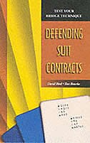 Book Defending Suit Contracts by David Bird