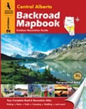 Backroad Mapbook: Central Alberta: Outdoor Recreation Guide de Trent Ernst