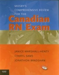 Book Mosby's Comprehensive Review for the Canadian RN Exam by Janice Marshall-henty