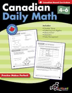 Canadian Daily Math Grades 4-6 by Demetra Turnbull