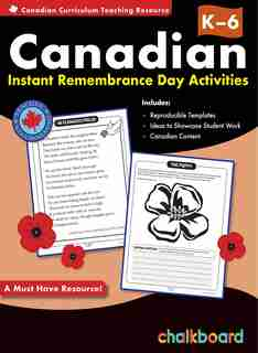 Canadian Instant Remembrance Day Activities Grades K-6 by Demetra Turnbull