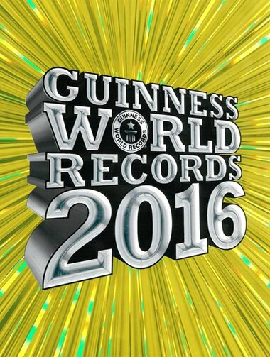 Guinness World Records 2016 by Craig Glenday