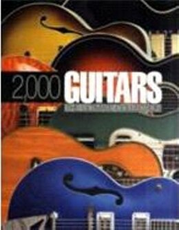 Book 2000 Guitars by Bacon Tony
