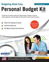 Book Personal Budget Kit: Including Financial Software by Casemate Ipm