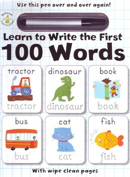 Book Learn To Write The 1st 100 Words by Tony Potter