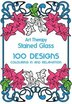 Art Therapy: Stained Glass: 100 Designs For Colouring In And Relaxation by Sophie Leblanc