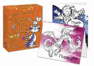 Color Your Own Thank You Cards by David Antram