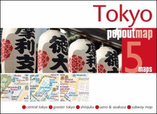Tokyo Popout Map by Popout Maps
