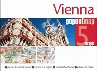 Vienna Popout Map: Handy, Pocket-size, Pop-up Map For Vienna