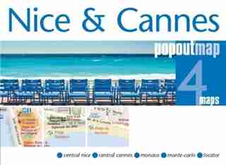 Nice And Cannes Popout Map