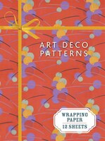 Art Deco Patterns: Wrapping Paper Book