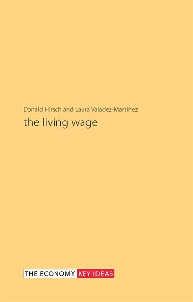 The Living Wage by Donald Hirsch