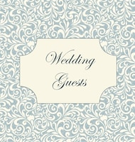 Vintage Wedding Guest Book, Wedding Guest Book, Our Wedding, Bride and Groom, Special Occasion…