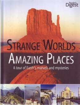 Book STRANGE WORLD AMAZING PLACES by Digest Readers
