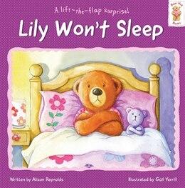 Book BEAR HUG BK LILY WONT SLEEP by Na