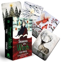 Seasons Of The Witch: Yule Oracle: 44 Gilded Cards And 144-page Book